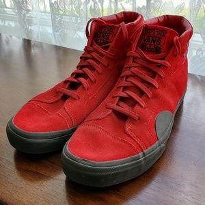 Van's Red High Tops